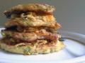 Zucchinipuffer mit Currykraut