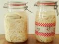 Vorrat, Winter, schneller probiotischer Salat